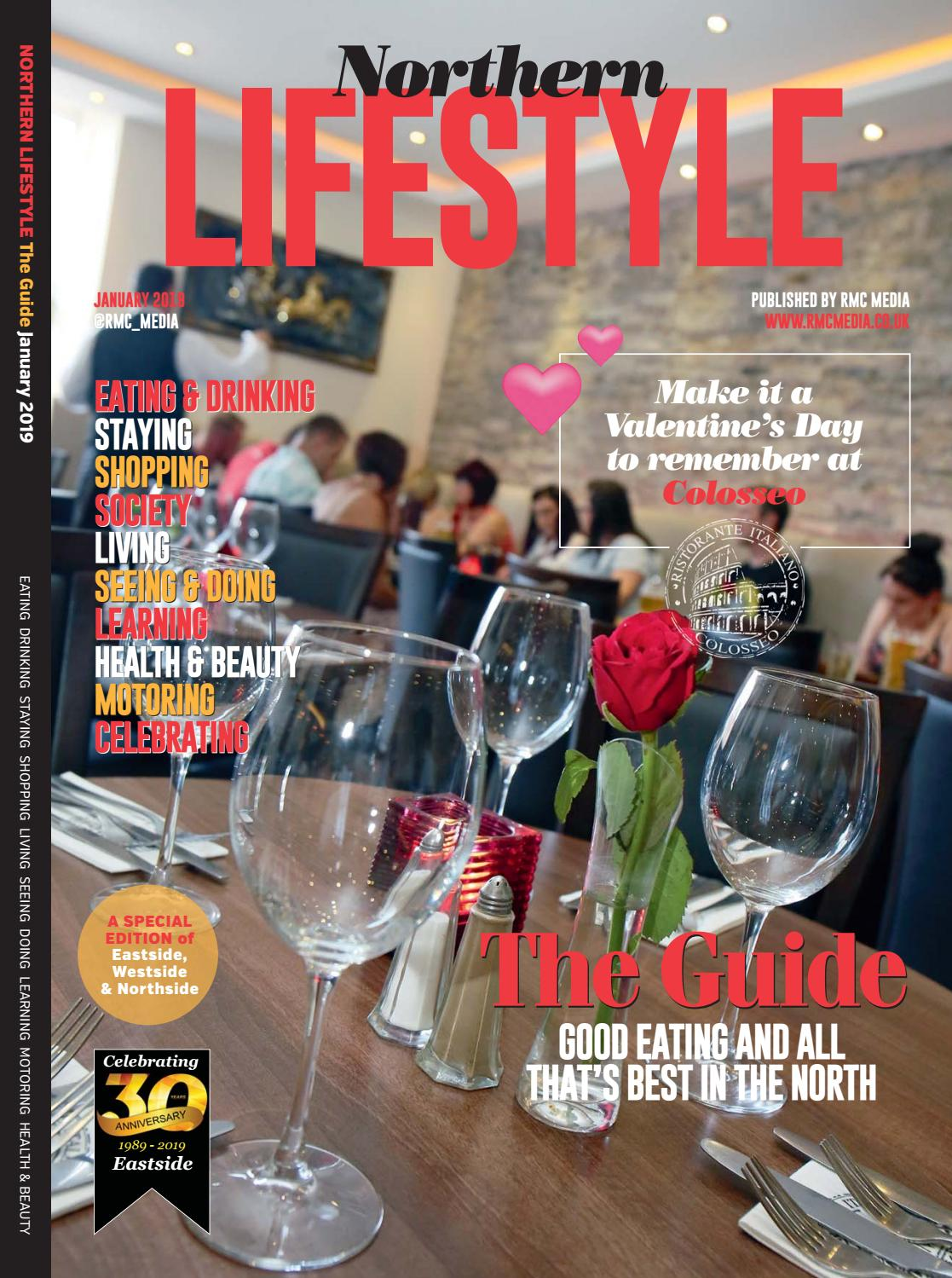 Northern Lifestyle (Eastside) January 2019 by RMC Media - issuu c9ba788be5