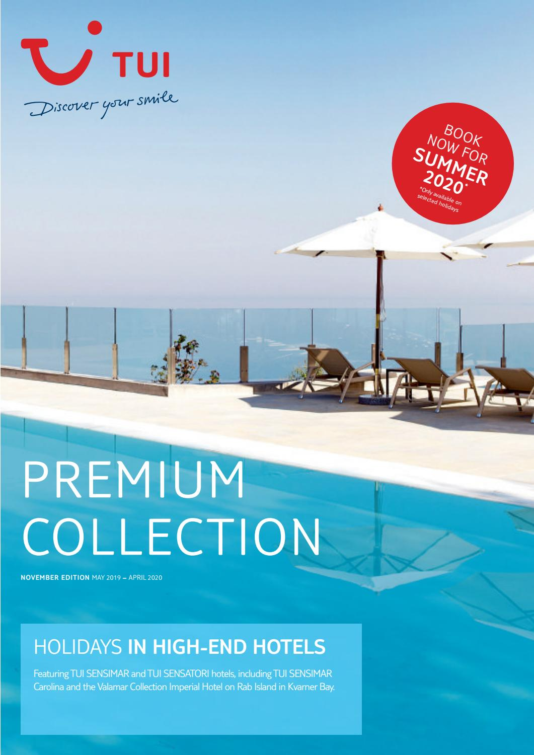 Premium Collection From Tui By Sarah Tastsidis Tasteful