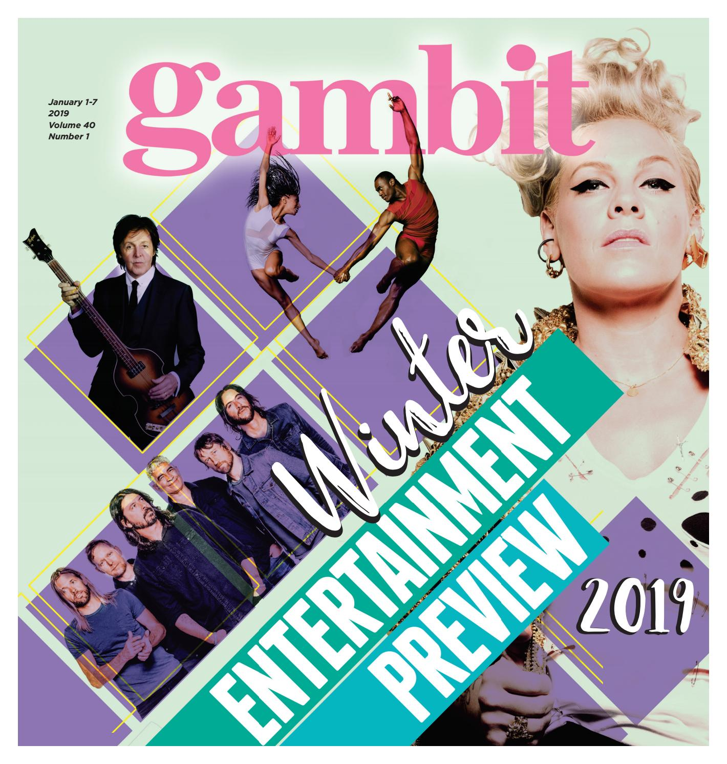 Gambit New Orleans, January 1, 2019 by Gambit New Orleans