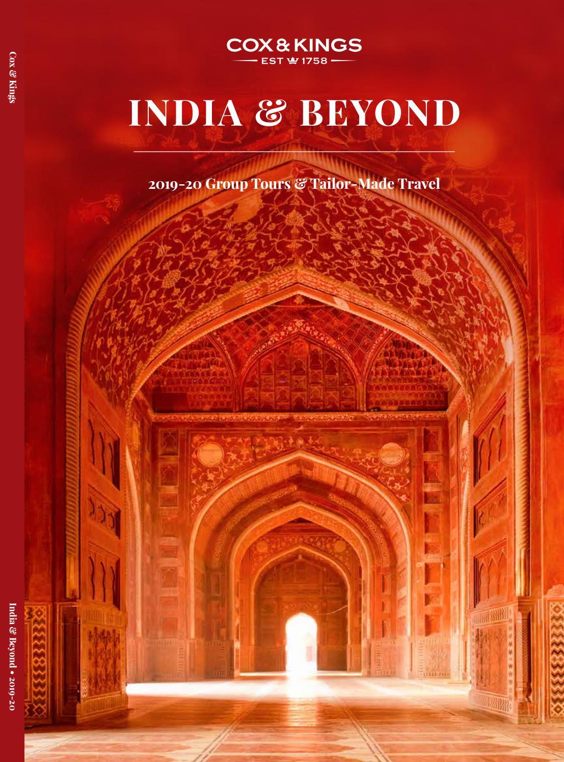 India Tours From Cox Kings By Sarah Tastsidis Tasteful Travel Issuu