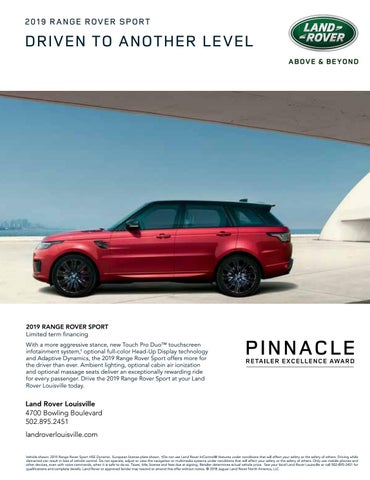 Land Rover Louisville >> The Voice Of Louisville By Red Pin Media Issuu