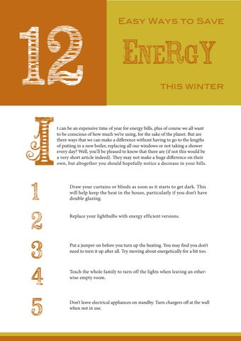 Page 48 of 12 Easy Ways to Save Energy this Winter