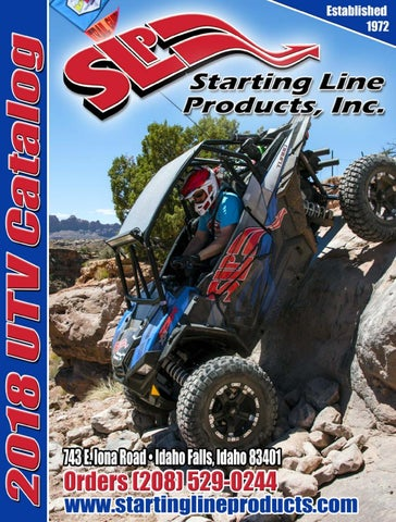 Starting Line Products (SLP) 2018 UTV Catalog by Starting