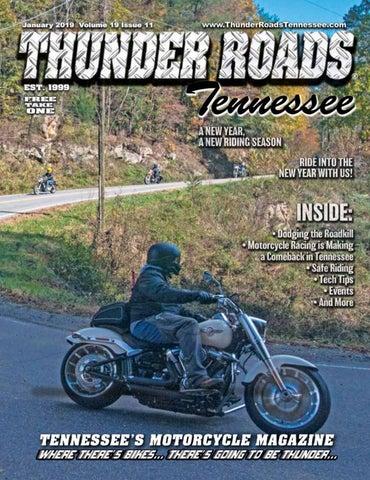 Thunder Roads Magazine Tennessee January 2019 by Thunder
