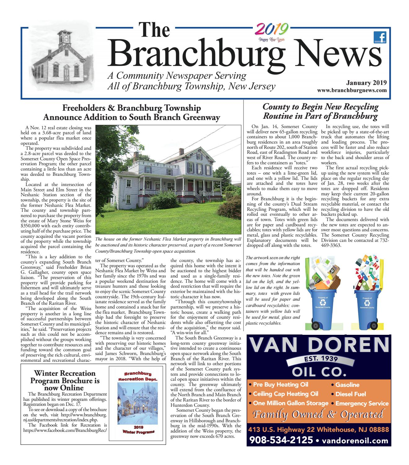 Branchburg News, Jan  2019 by Town Media - issuu