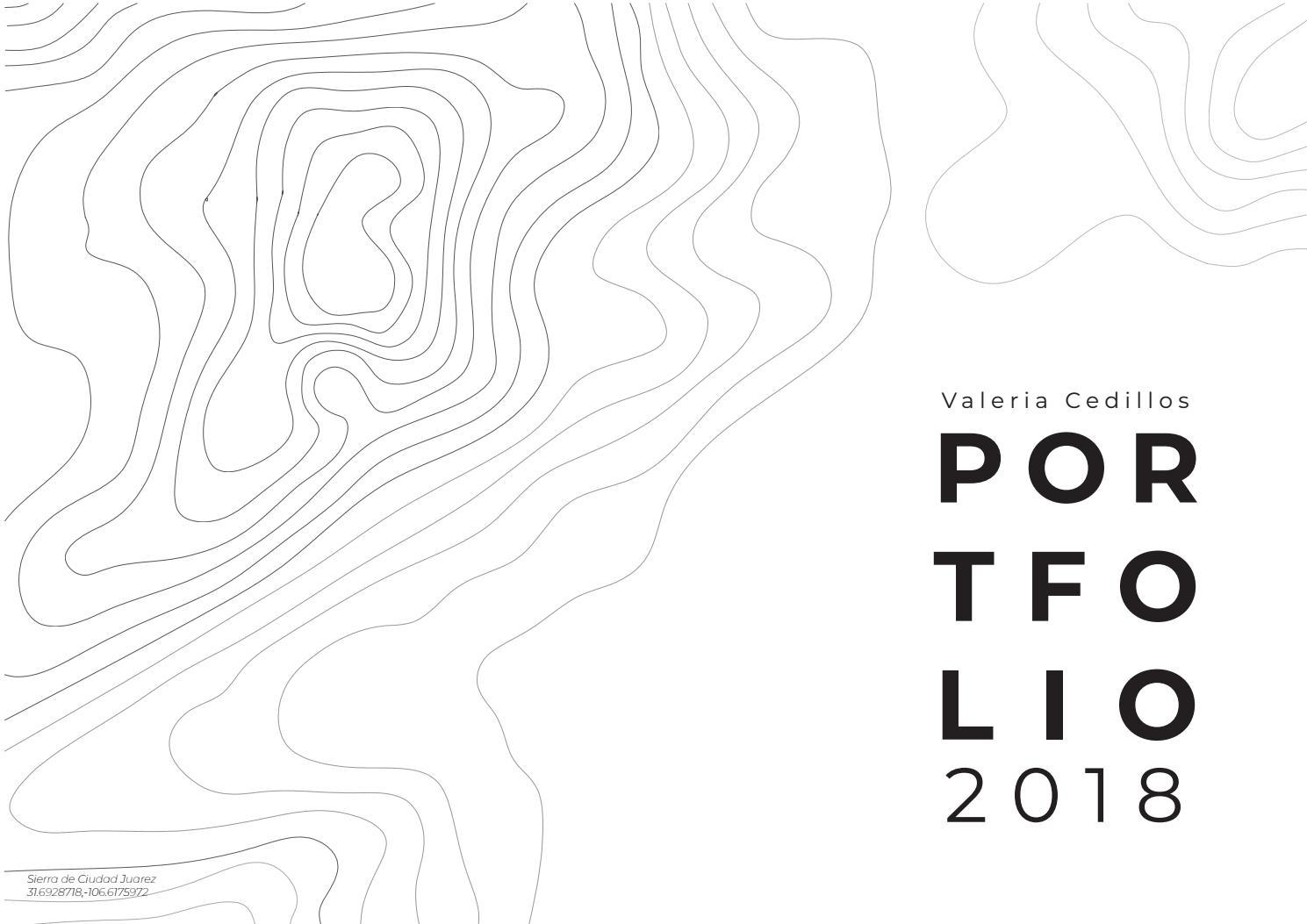 Undergraduate Architect Portfolio 2018 By VCedillos