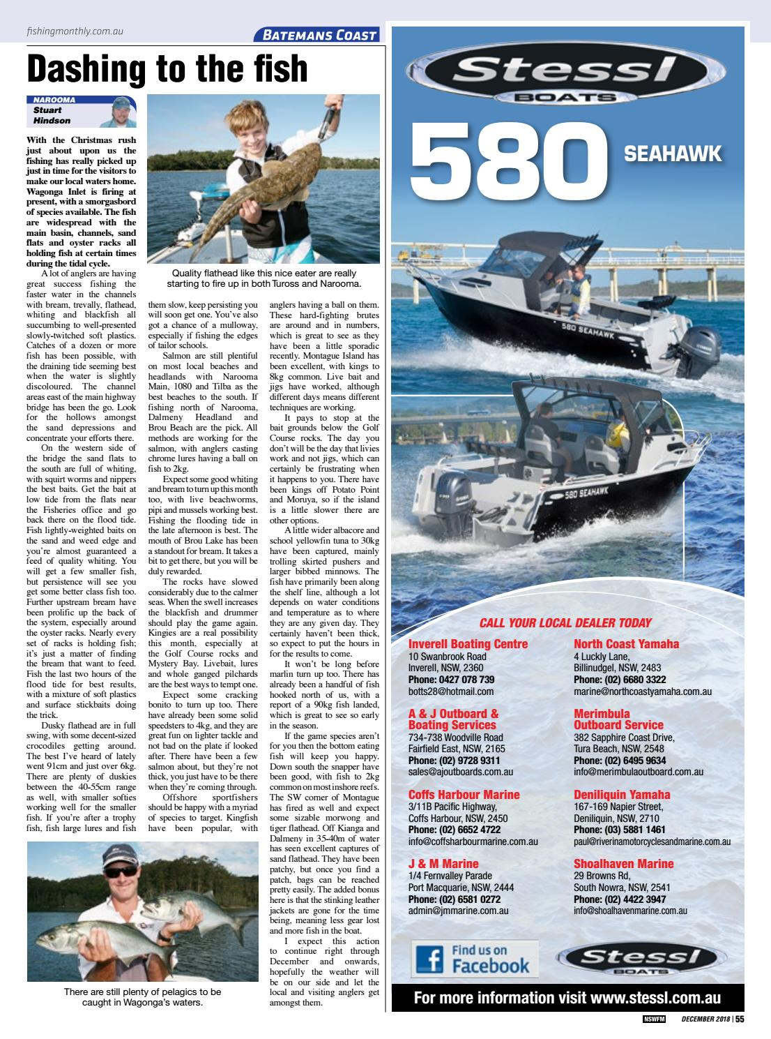 NSW Fishing Monthly December 2018 by Fishing Monthly - issuu