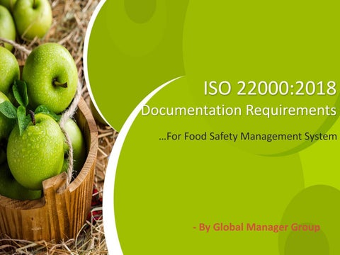 What Documentation required for ISO 22000:2018 Certification