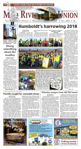 Mad River Union January 2, 2019 Edition by Mad River Union