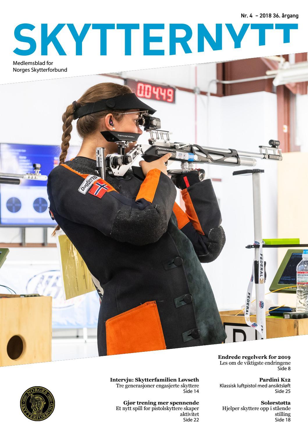 17eec15f7 Skytternytt #4 2018 by Norges Skytterforbund - issuu
