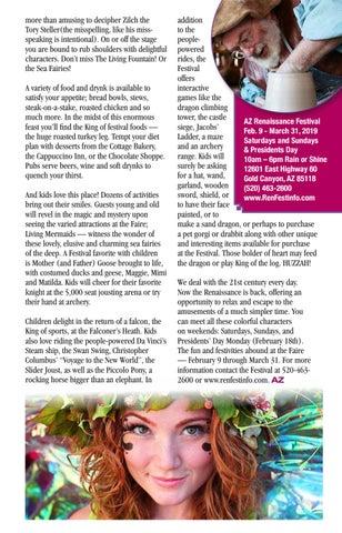 Page 33 of Huzzah! Arizona's Favorite Festival Returns