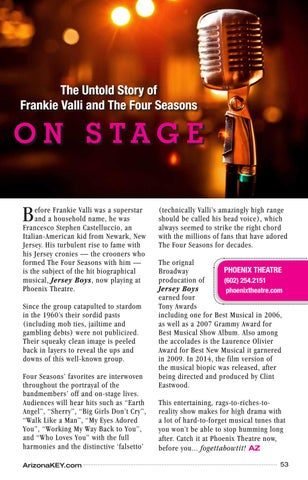 Page 53 of The Untold Story of Frankie Valli and The Four Seasons Plays Out On Stage at Phoenix Theatre