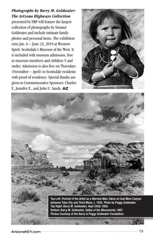 Page 73 of Photographs by Barry M. Goldwater on Display in Scottsdale