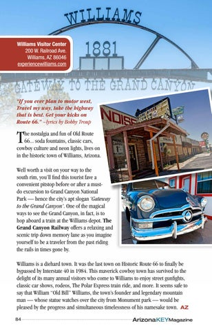 Page 84 of A Time Capsule City is the Gateway to the Grand Canyon