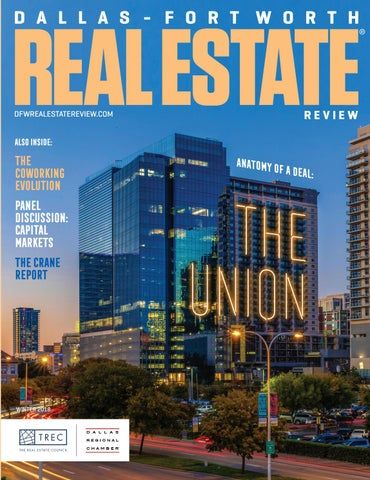 Dallas-Fort Worth Real Estate Review - Winter 2018 by Dallas