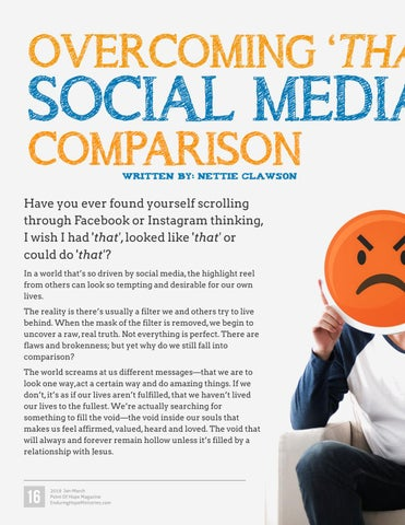 Page 16 of Overcoming 'That' Social Media Comparison