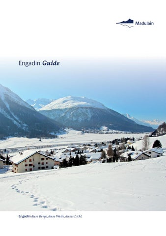 Engadin Guide Winter 2018/19, Madulain by Engadin St. Moritz - issuu
