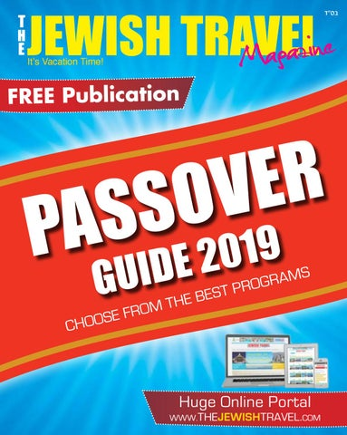 The Jewish Travel 2019 by Travel Networking - issuu