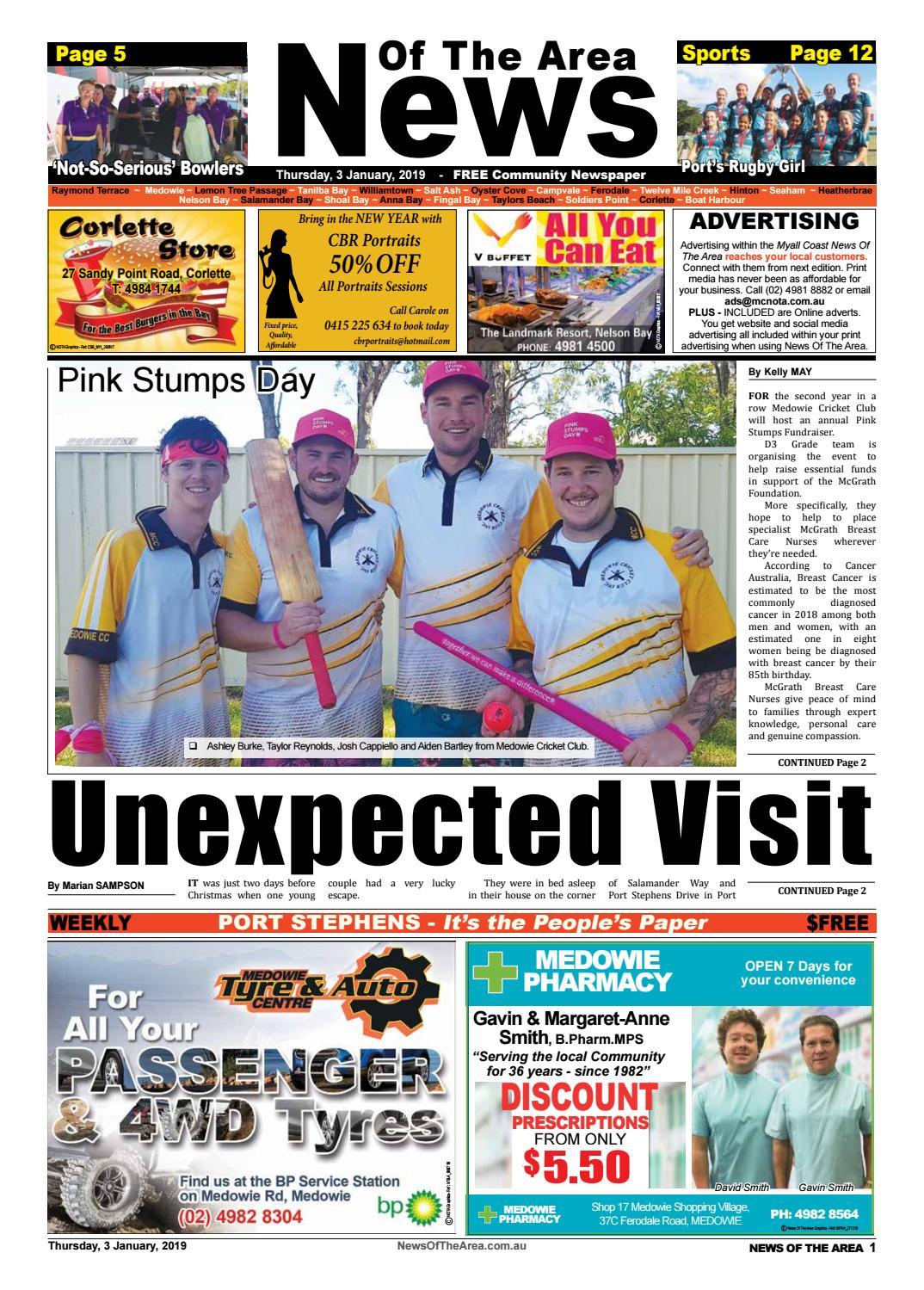 Raymond Terrace News Of The Area - 3 January 2019 by News Of ...