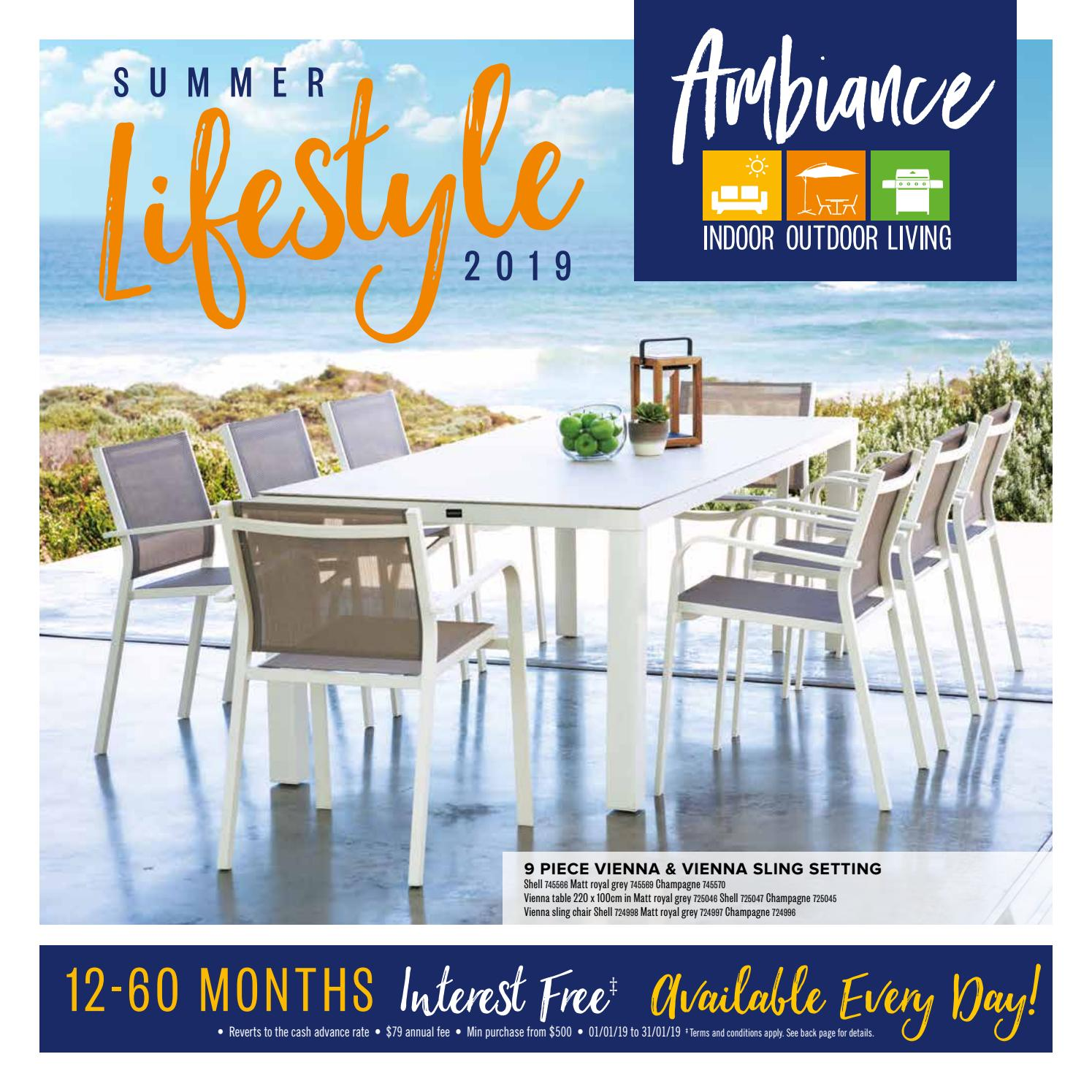 Ambiance Indoor Outdoor Living January 2019 Catalogue By