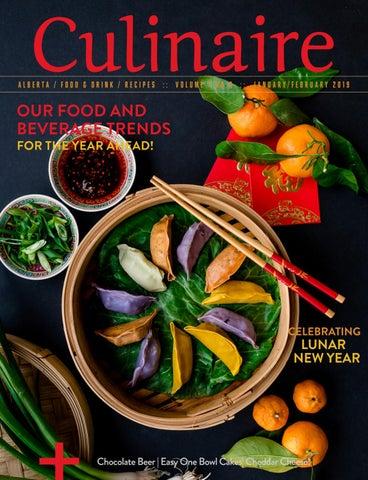 Culinaire #7:8 (January/February 2019) by Culinaire Magazine