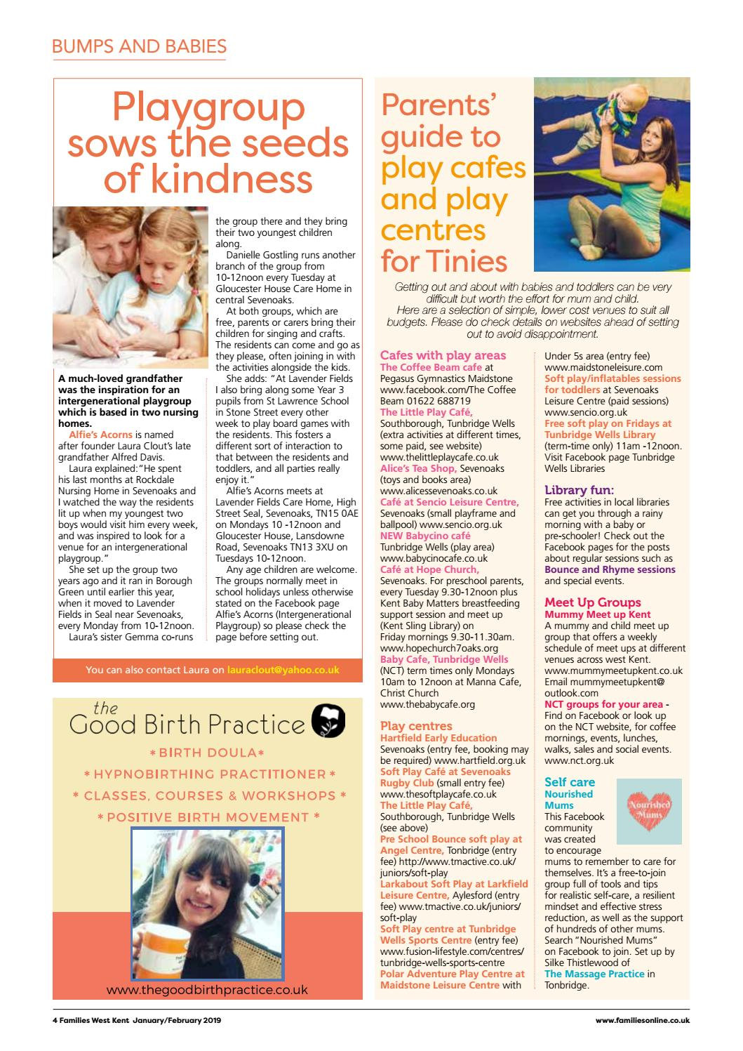 Families West Kent Jan/Feb 2019 by Families Magazine - issuu