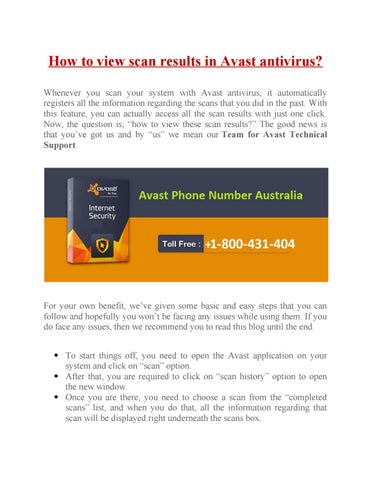 does avast scan automatically