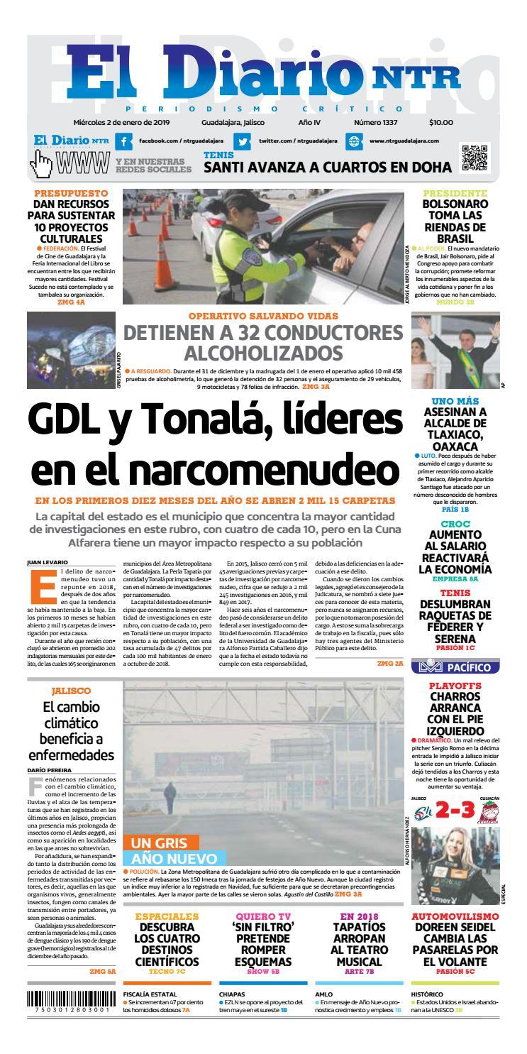 bd7641b384 El Diario NTR 1337 by NTR Guadalajara - issuu