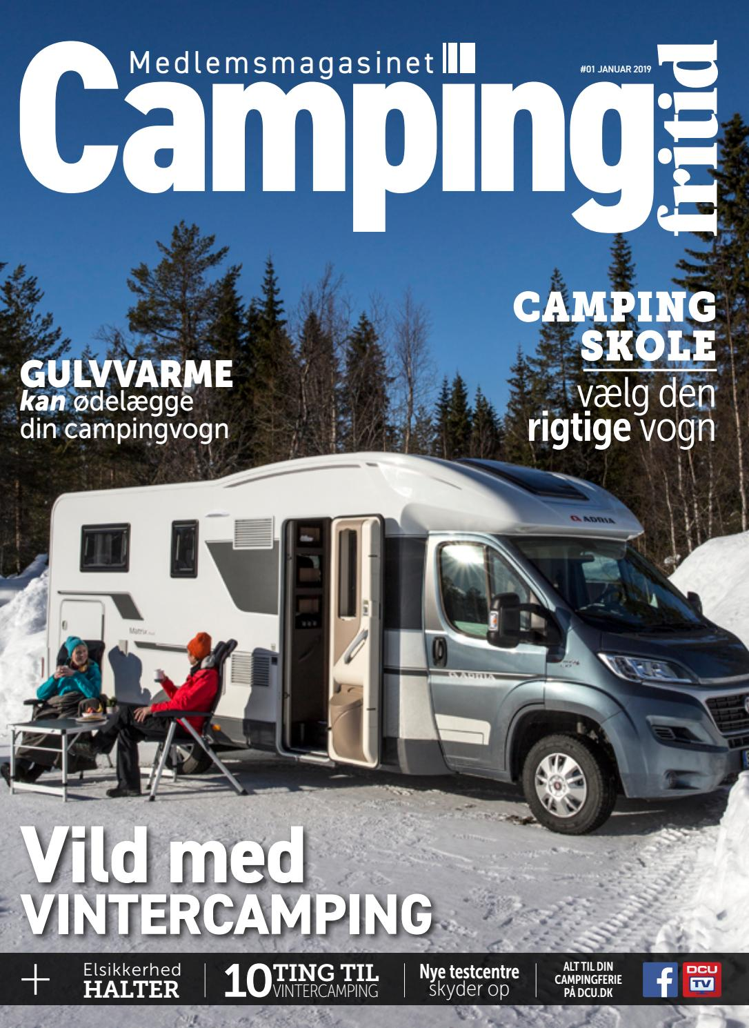 Picture of: Camping Fritid 1 2019 By Dansk Camping Union Issuu