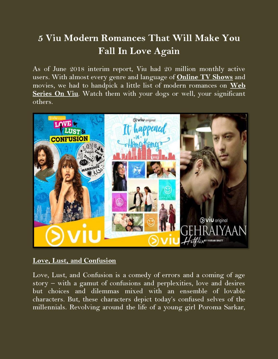 5 Viu Modern Romances That Will Make You Fall In Love Again