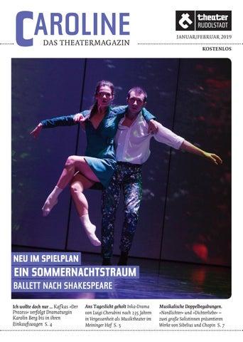 Caroline Das Theatermagazin Januarfebruar 2019 By Theater