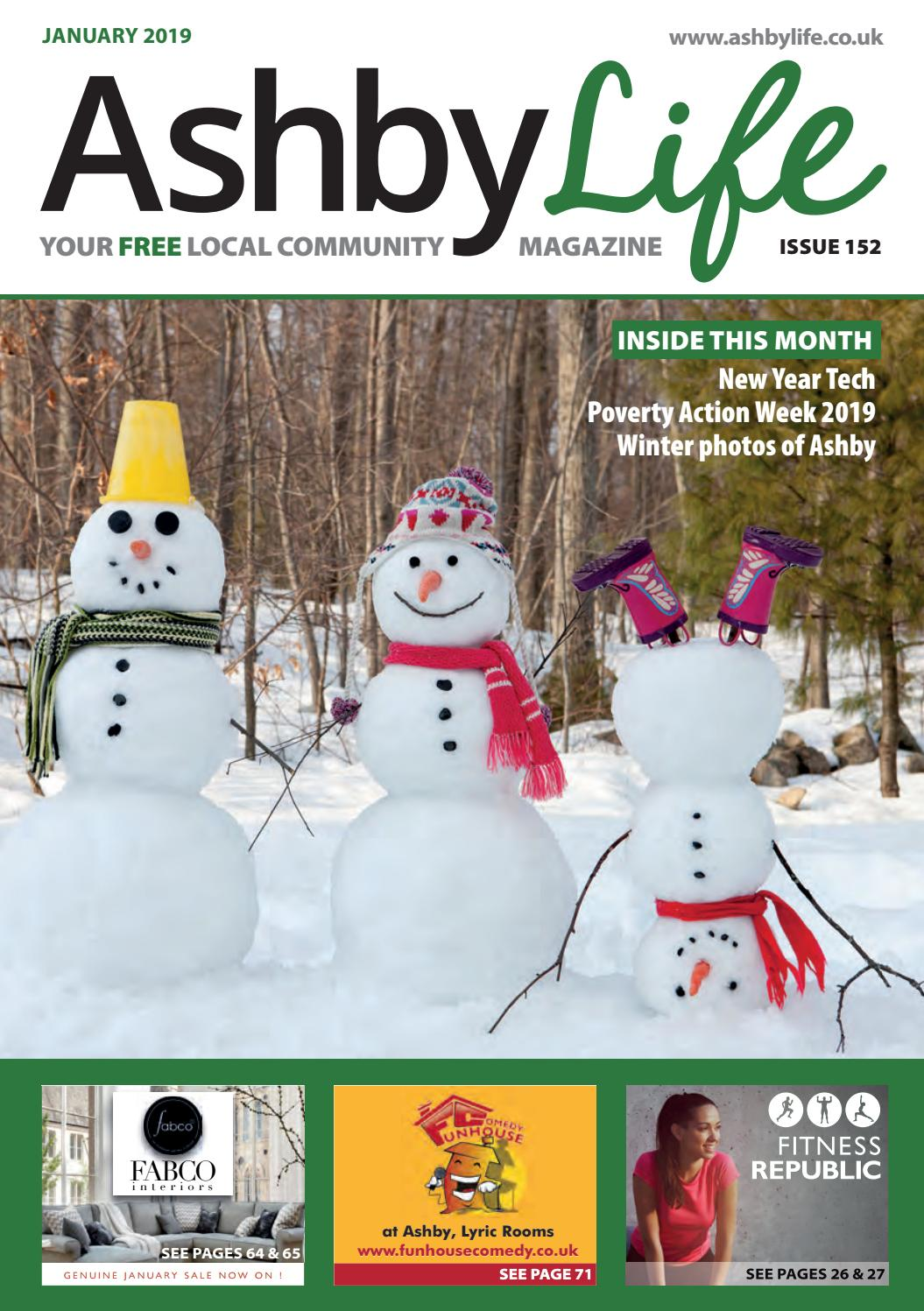 Ashby Life Magazine January 2019 By Ashby Life Issuu