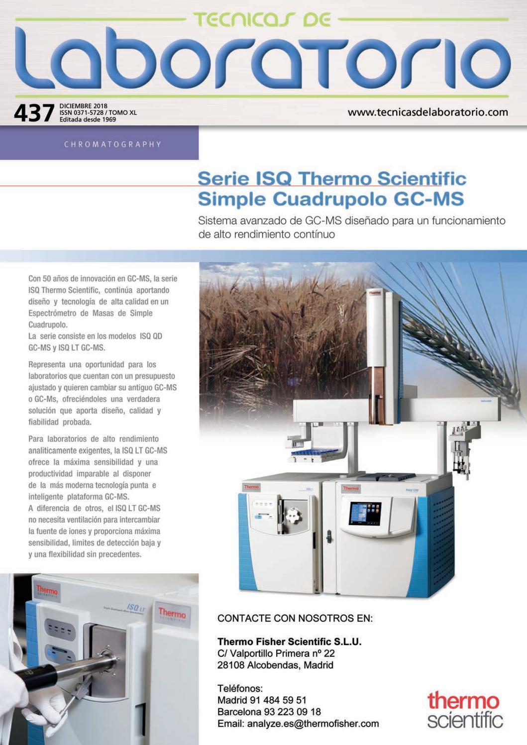 Tecnicas de Laboratorio nº 437 by Publica SL - issuu