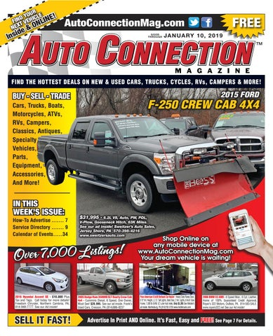 01-10-19 Auto Connection Magazine by Auto Locator and Auto