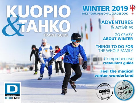 cad9584606b Winter travel guide 2019 Kuopio-Tahko region by NMT Kuopio - issuu