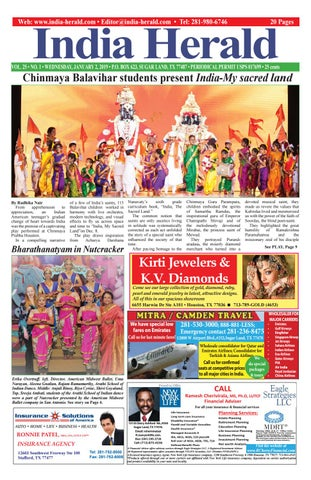 India Herald 010219 by India Herald - issuu