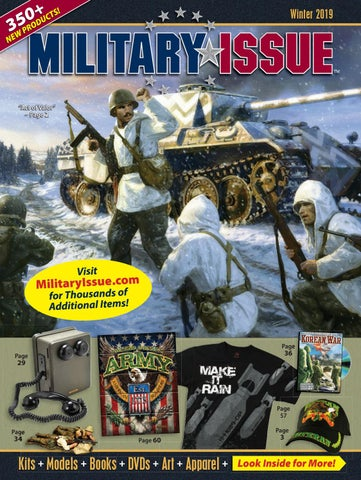 Military Issue Winter 2019 Catalog By Historic Sales Issuu