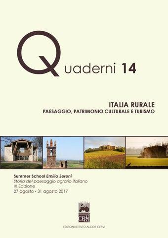 df4bcfd04d12d Quaderno 14 ITALIA RURALE by Biblioteca Archivio Emilio Sereni - issuu
