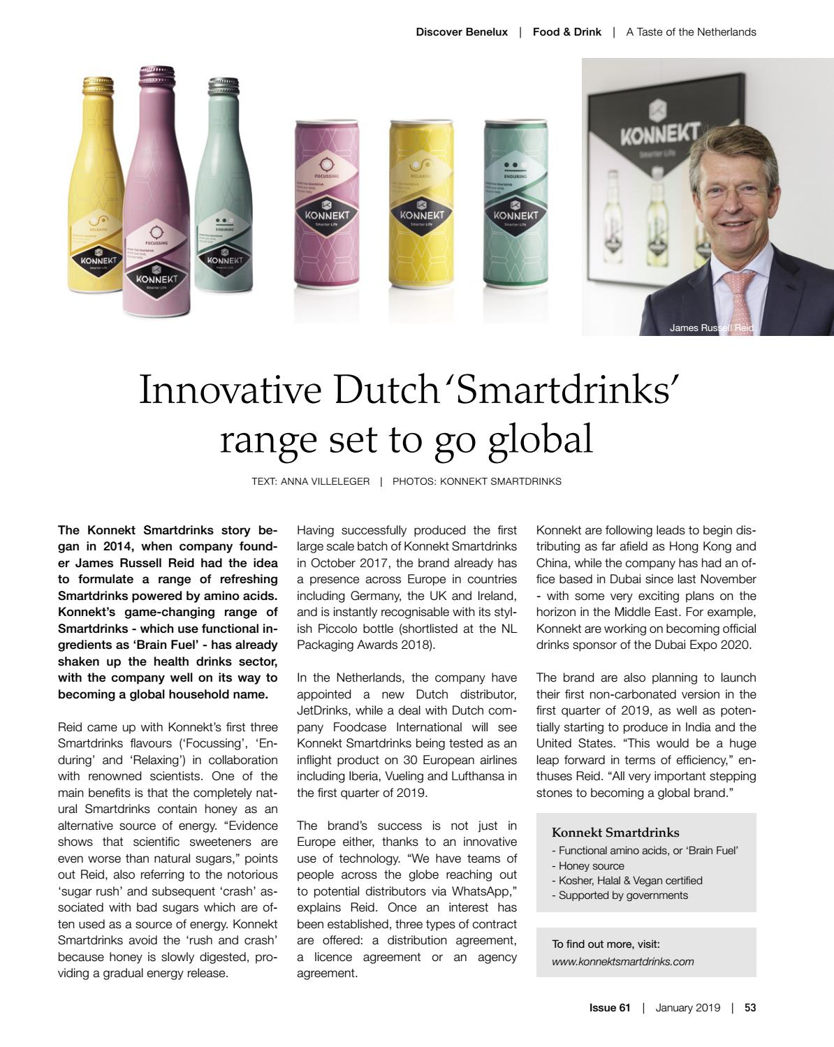 Discover Benelux, Issue 61, January 2019 by Scan Group - issuu