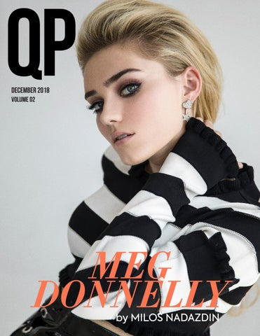 Page 1 of MEG DONNELLY by MILOS NADAZDIN for QP