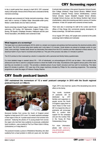 CRY Update Magazine - Issue 51 by Cardiac Risk in the Young - issuu