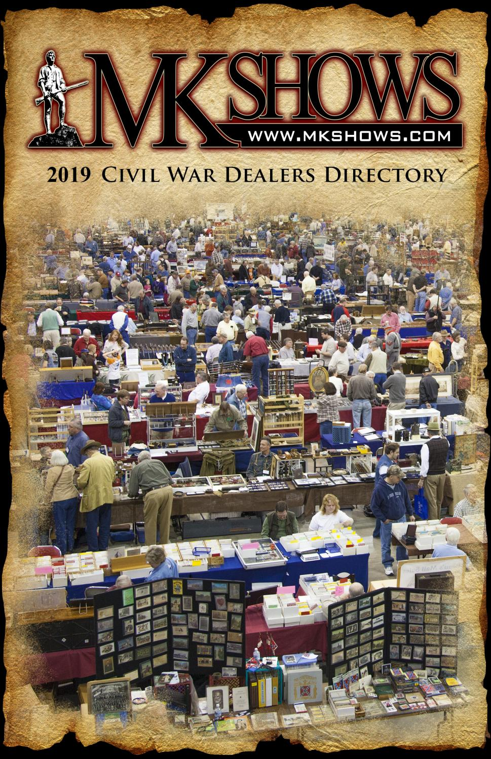 Mk Shows Civil War Dealers Directory By Historical Publications Llc Issuu