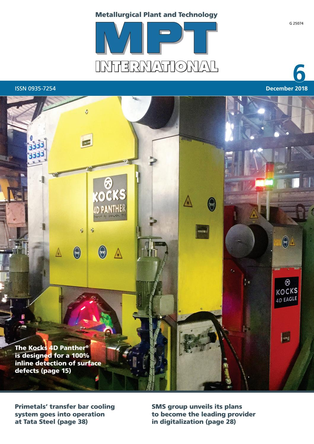MPT International 6/2018 (Dec) by MPT Metallurgical Plant