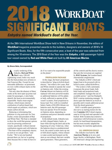 Page 4 of WorkBoat's 2018 Significant Boat of the year Enhydra