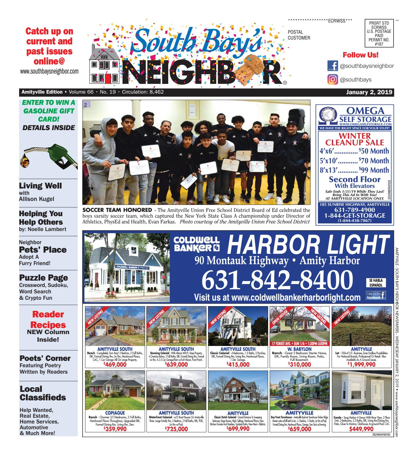 January 2 2019 Amityville By South Bays Neighbor Newspapers Issuu Wiring Zones 17th Edition