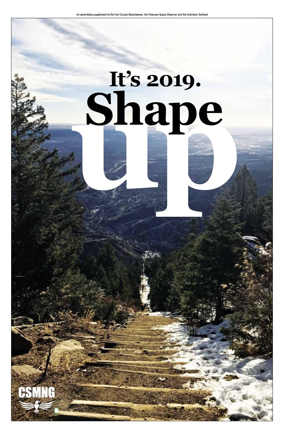 Shape Up 2019 By Colorado Springs Military Newspaper Group Issuu