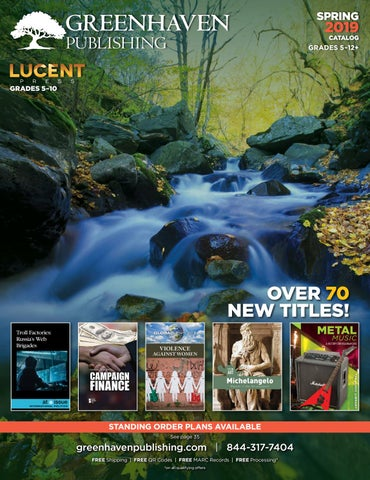 Greenhaven Spring 2019 by Greenhaven Publishing - issuu