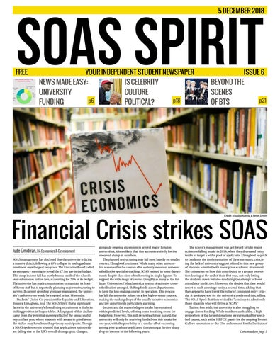 Issue 6: December 2018 by The SOAS Spirit - issuu
