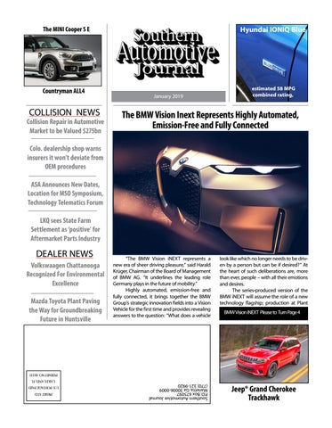Southern Automotive Journal January 2019 Issue By Southern