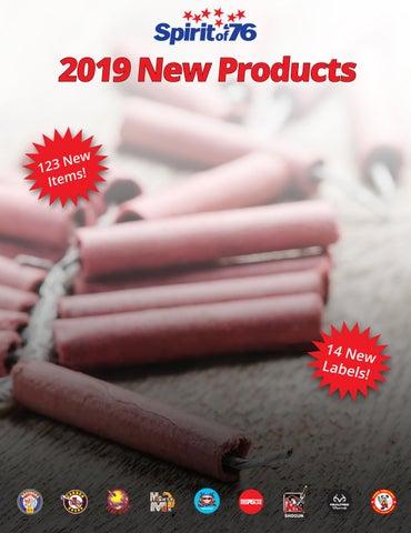 d526fcb30096c8 2019 New Fireworks Catalog by Spirit of  76 Fireworks Wholesaler - issuu